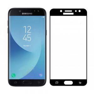 Защитное стекло 3D (5D) Tempered Glass Full Glue Cover на весь экран для Samsung Galaxy J7 2017 (J730) – Black