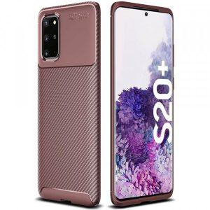 Силиконовый чехол Kaisy Series для Samsung Galaxy S20 Plus – Brown