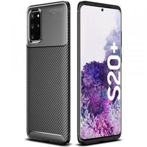 Силиконовый чехол Kaisy Series для Samsung Galaxy S20 Plus – Black