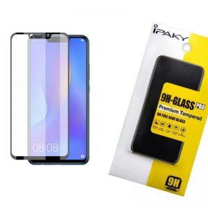 Защитное стекло 3D (5D) Perfect Glass Full Glue Ipaky на весь экран для Huawei P Smart Plus / Nova 3i – Black