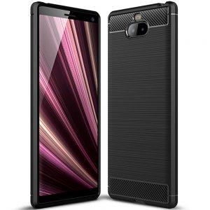 Cиликоновый TPU чехол Slim Series для Sony Xperia XA3 – Черный