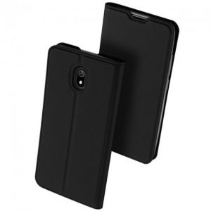Чехол-книжка Dux Ducis с карманом для Xiaomi Redmi 8A – Черный