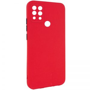 Чехол TPU Square Full Camera для Tecno Pova (LD7) – Красный