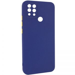 Чехол TPU Square Full Camera для Tecno Pova (LD7) – Синий