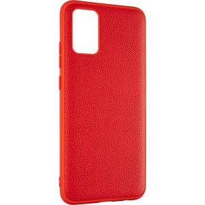Кожаный чехол Leather Case для Samsung Galaxy A22 / M32 – Red