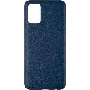 Кожаный чехол Leather Case для Samsung Galaxy A22 / M32 – Dark Blue