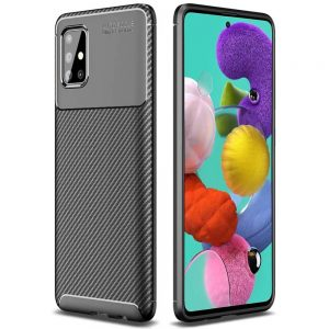 Силиконовый чехол Kaisy Series для Samsung Galaxy A71 – Black