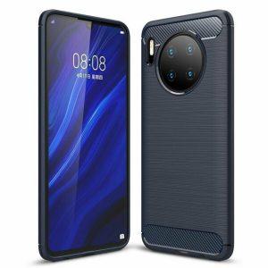 Cиликоновый TPU чехол Slim Series для Huawei Mate 30 – Синий