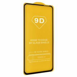 Защитное стекло 9D Full Glue Cover Glass на весь экран для Realme 6 – Black