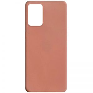 Матовый силиконовый TPU чехол для Oppo A74 – Rose Gold