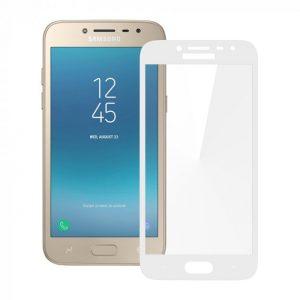 Защитное стекло 3D (5D) Full Glue Armor Glass на весь экран для Samsung Galaxy J2 / J2 Pro 2018 (J250) – White