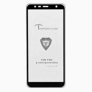 Защитное стекло 3D (5D) Tempered Glass Full Glue Cover на весь экран для Samsung Galaxy J6 Plus 2018 (J610) – Black