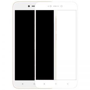 Защитное стекло 5D Full Glue Cover Glass на весь экран для Xiaomi Redmi 5a / Redmi Go – White