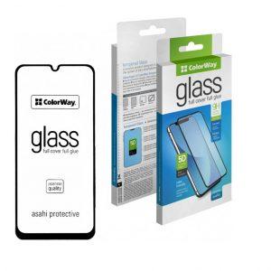 Защитное стекло 3D (5D) ColorWay Full Glue Cover Glass для Samsung Galaxy A20s 2019 (A207) – Black