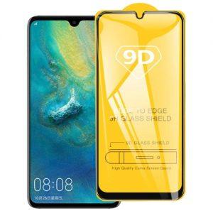 Защитное стекло 9D Full Glue Cover Glass на весь экран для Huawei P30 Lite – Black