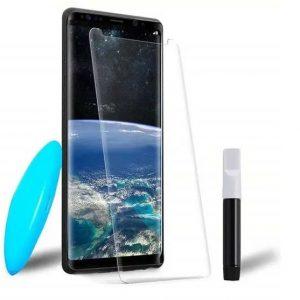 Защитное стекло 3D / 5D UV Mocolo с УФ лампой для Samsung Galaxy S9 Plus (G965) – Clear