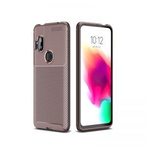 Силиконовый чехол Kaisy Series для Motorola One Hyper – Brown