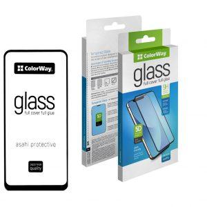 Защитное стекло 3D (5D) ColorWay Full Glue Cover Glass для Samsung Galaxy A11 / M11 – Black