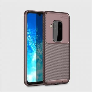 Силиконовый чехол Kaisy Series для Motorola P40 Note / One Zoom – Brown