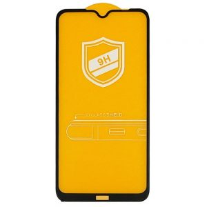 Защитное стекло 9H Full Glue на весь экран для Xiaomi Redmi Note 8T – Black