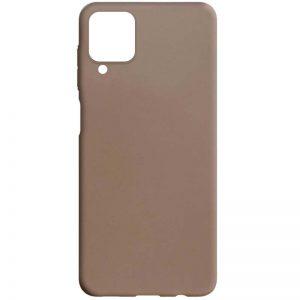 Матовый силиконовый TPU чехол для Samsung Galaxy A22 / M32 – Коричневый