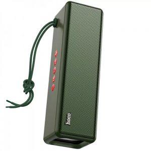 Портативная Bluetooth колонка Hoco HC3 Bounce – Dark green