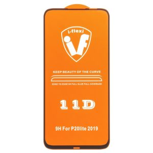 Защитное стекло 11D 9H i-flexi Full Glue для Huawei P20 Lite — Black