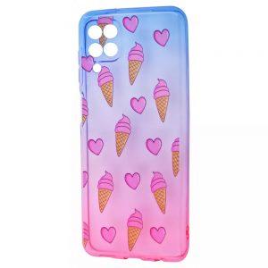 Чехол WAVE Sweet Acid Case для Samsung Galaxy A22 / M32  – Blue / Pink / Ice cream