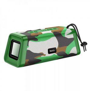 Портативная Bluetooth колонка Hoco BS35 Classic – Camouflage green