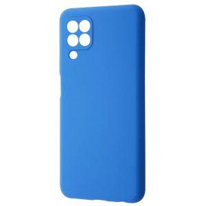Чехол Silicone Case WAVE Full с микрофиброй для Samsung Galaxy A22 / M32 – Blue