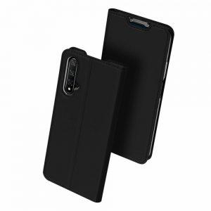 Чехол-книжка Dux Ducis с карманом для Huawei Honor 20 / Nova 5T — Черный