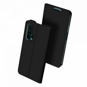 Чехол-книжка Dux Ducis с карманом для Huawei Honor 20 Pro — Черный