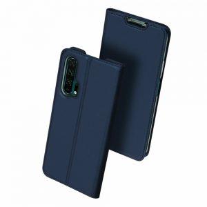 Чехол-книжка Dux Ducis с карманом для Huawei Honor 20 Pro — Синий