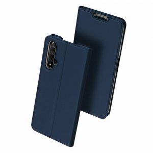 Чехол-книжка Dux Ducis с карманом для Huawei Honor 20 / Nova 5T — Синий