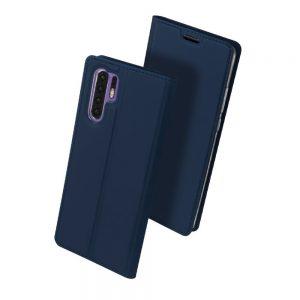 Чехол-книжка Dux Ducis с карманом для Huawei P30 Pro — Синий