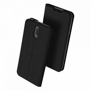 Чехол-книжка Dux Ducis с карманом для Nokia 2.3 — Черный