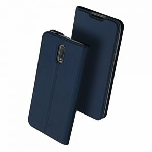 Чехол-книжка Dux Ducis с карманом для Nokia 2.3 — Синий