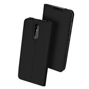 Чехол-книжка Dux Ducis с карманом для Nokia 3.2 — Черный