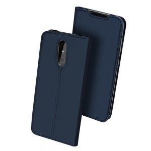 Чехол-книжка Dux Ducis с карманом для Nokia 3.2 — Синий