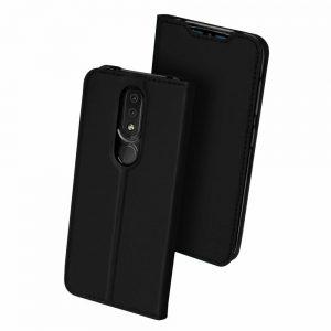 Чехол-книжка Dux Ducis с карманом для Nokia 4.2 — Черный