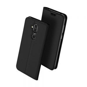 Чехол-книжка Dux Ducis с карманом для Nokia 8.1 / 7.1 Plus / X7 — Черный