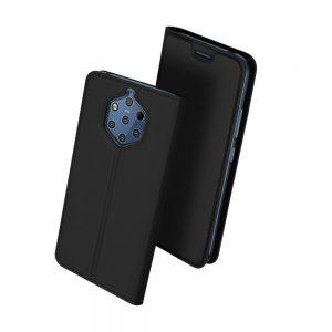 Чехол-книжка Dux Ducis с карманом для Nokia 9 PureView — Черный