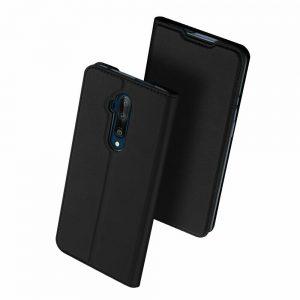 Чехол-книжка Dux Ducis с карманом для OnePlus 7T Pro — Черный