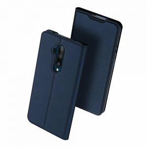 Чехол-книжка Dux Ducis с карманом для OnePlus 7T Pro — Синий
