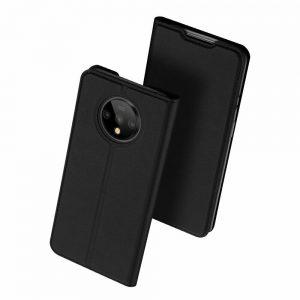Чехол-книжка Dux Ducis с карманом для OnePlus 7T — Черный