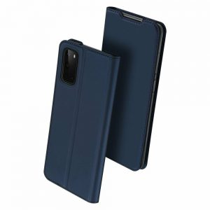 Чехол-книжка Dux Ducis с карманом для Samsung Galaxy S20 — Синий