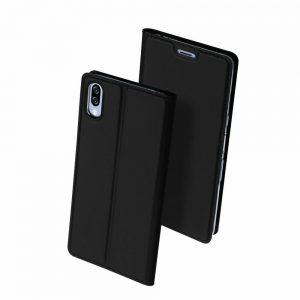 Чехол-книжка Dux Ducis с карманом для Sony Xperia L3 — Черный