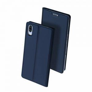 Чехол-книжка Dux Ducis с карманом для Sony Xperia L3 — Синий