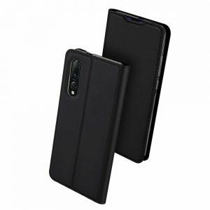 Чехол-книжка Dux Ducis с карманом для Xiaomi Mi 9 — Черный