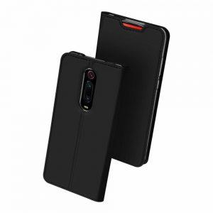 Чехол-книжка Dux Ducis с карманом для Xiaomi Redmi K20 / K20 Pro / Mi 9T / Mi 9T Pro – Черный